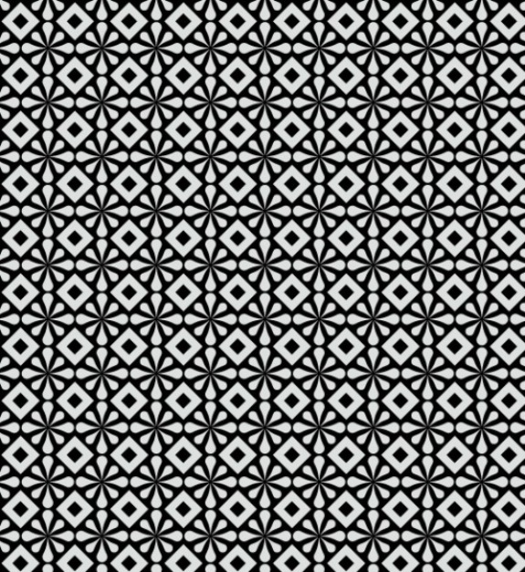 Abstract Black And White Pattern