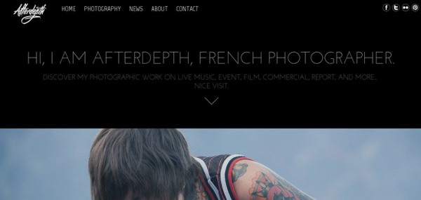 Afterdepth - Photographe