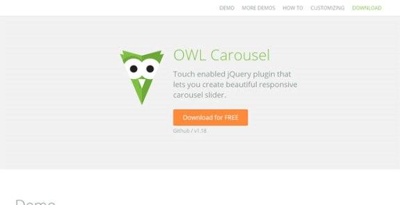 Example owl carousel - JQuery Carousel Slider Free Download - Owl
