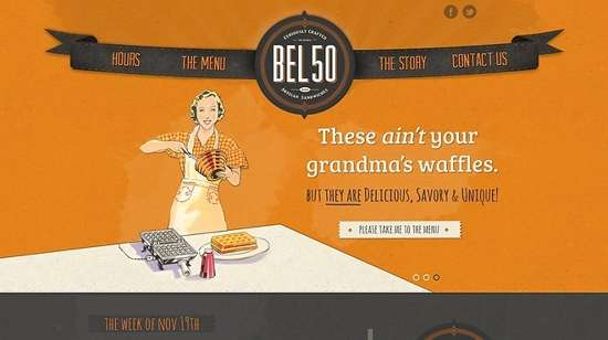bel50 web design