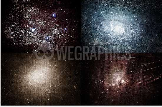 Cosmic Dirty Textures sets