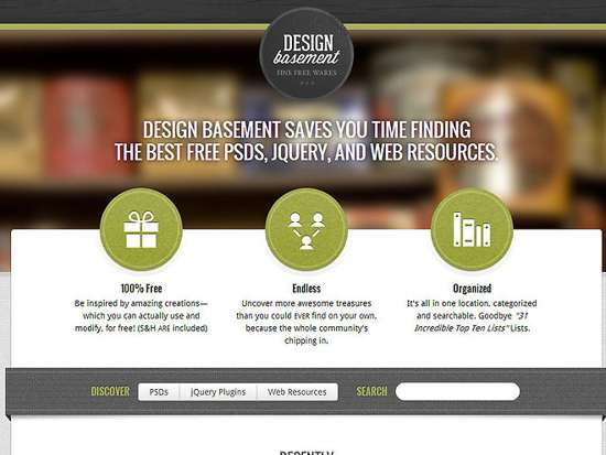 design basement web design