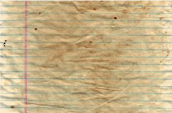 Stained Notebook textures