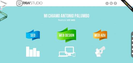 paw studio web design