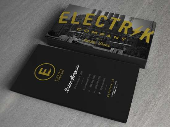 Electrik Company cards