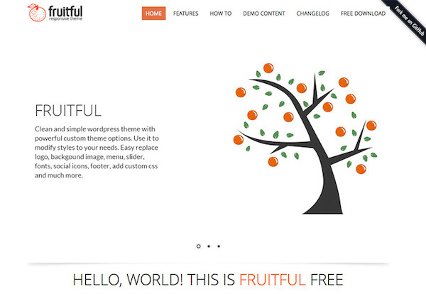 Fruitful Responsive Theme