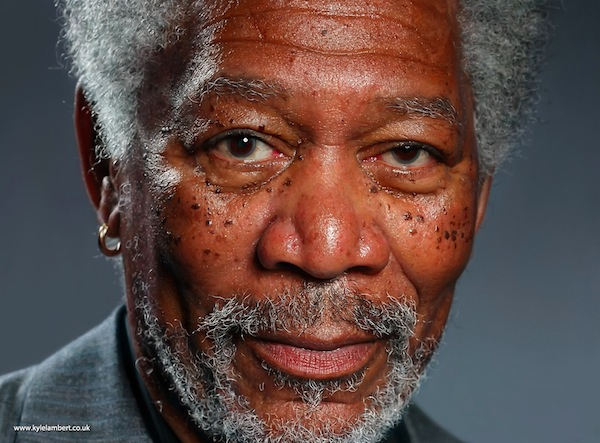 Photorealistic Morgan Freeman