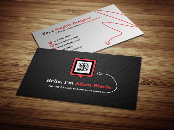 Scan my QR Code Business Card