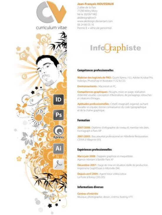 Curriculum Vitae by AkiDesign