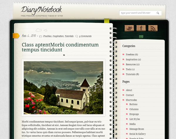 Responsive WordPress Themes (4)