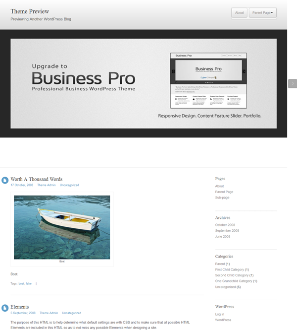 Responsive WordPress Themes (9)