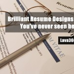 Brilliant Resume Designs Like You have never seen before (1)