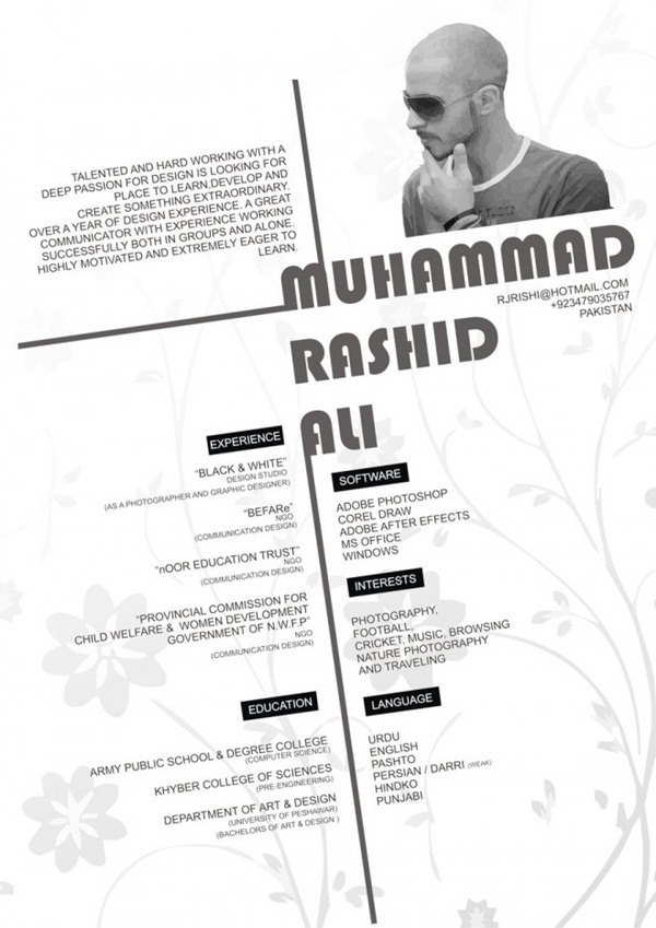 Brilliant Resume Designs Like You have never seen before (22)