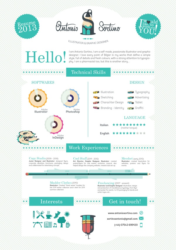 Brilliant Resume Designs Like You have never seen before (23)