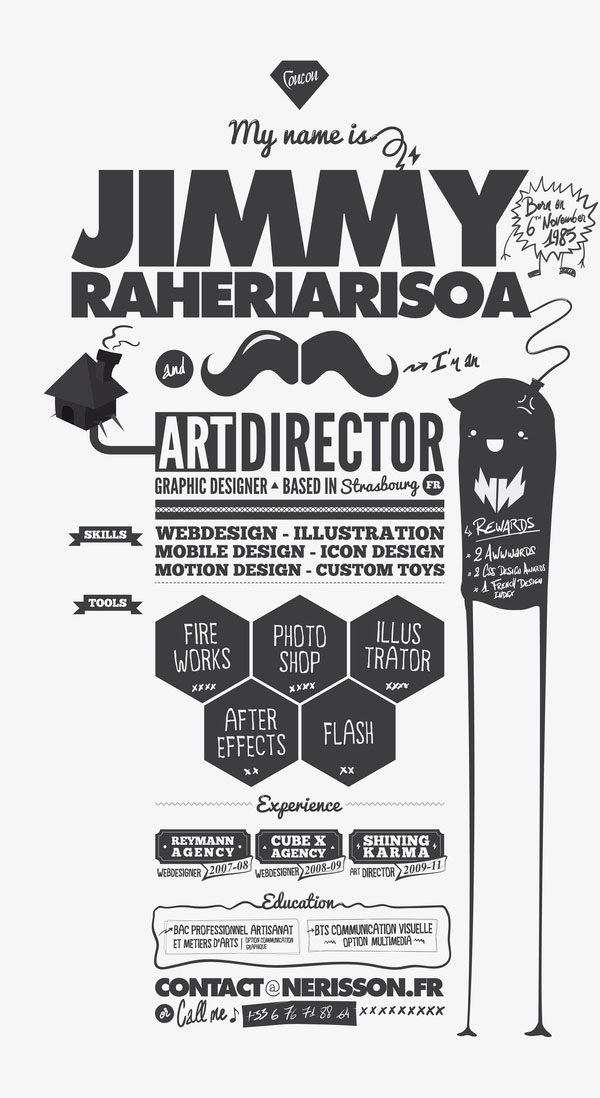 Brilliant Resume Designs Like You have never seen before (28)