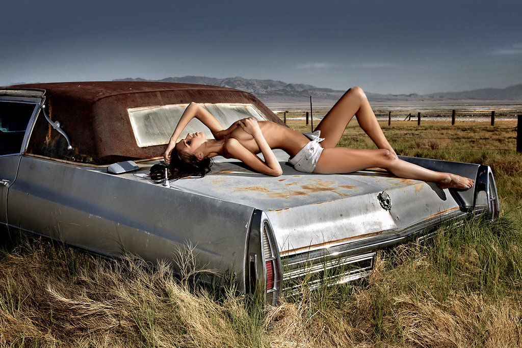 Cadillac stylish Fashion Photography