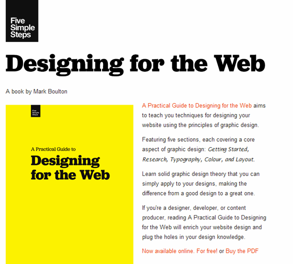 Free e-books for Web Designers (1)