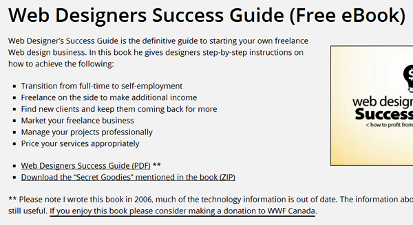 Free e-books for Web Designers (9)