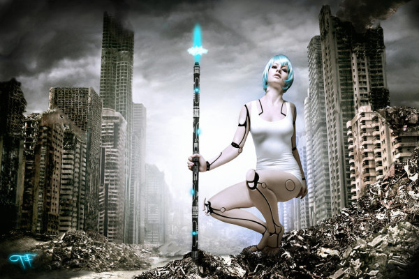julia Cyborg Girls Photo manipulations