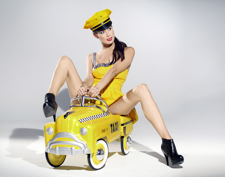 toy Taxi pinup