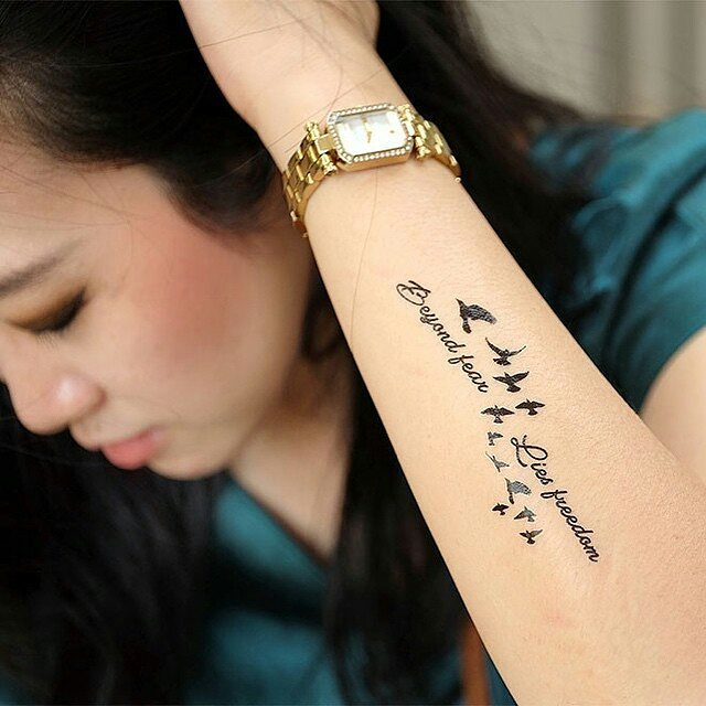 Temporary Text Tattoo Designs 1.3