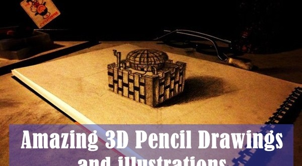 35+ Unbelievable Anamorphic 3D Pencil Drawings Artwork