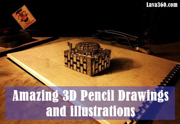 3D Pencil Drawings and illustrations1.1