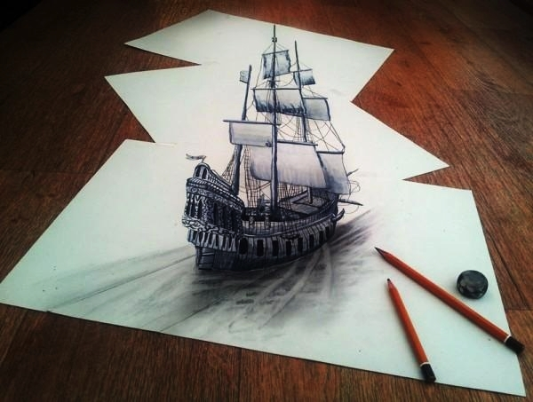 3D Pencil Drawings and illustrations1