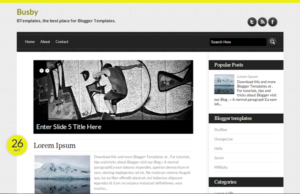 Best Blogger Templates (6)