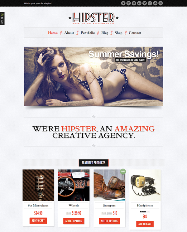 Best Vintage WordPress Themes11