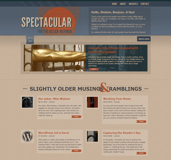 Best Vintage WordPress Themes15