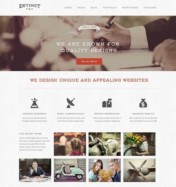 Best Vintage WordPress Themes19
