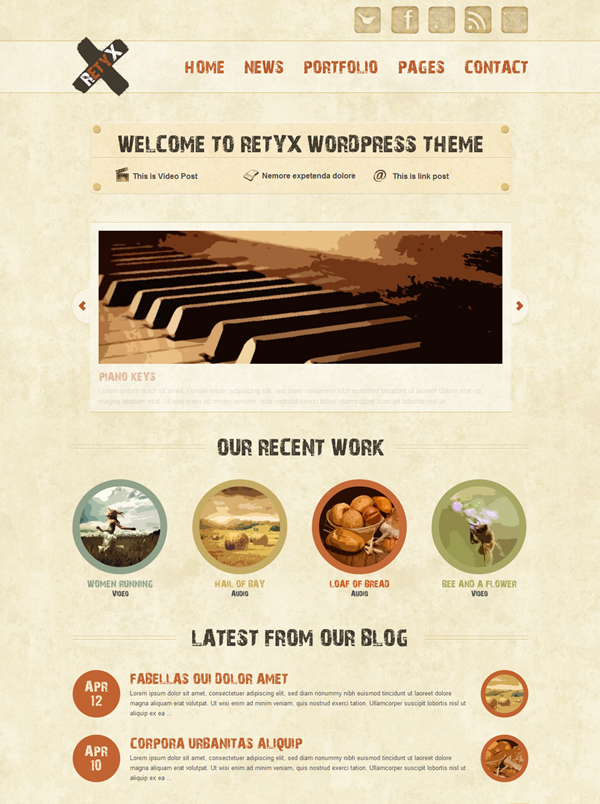 Best Vintage WordPress Themes4