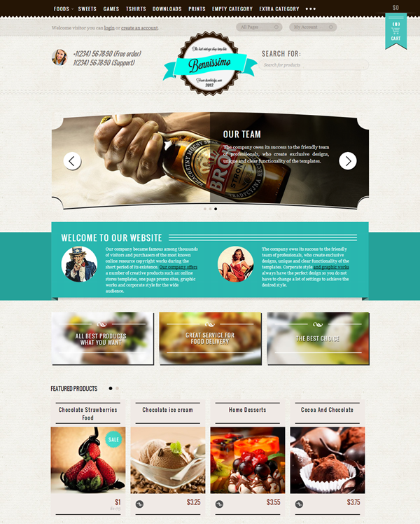 Best Vintage WordPress Themes8