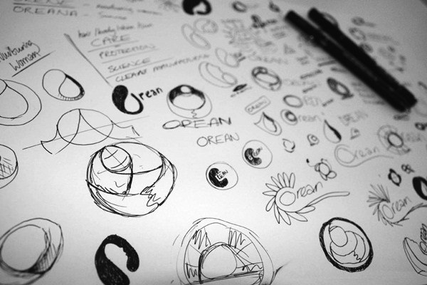 Creative Logo Sketching Designs for Inspiration1.2