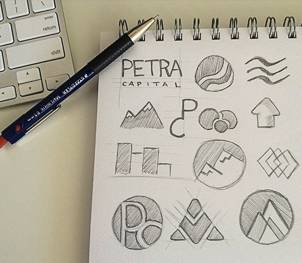 Creative Logo Sketching Designs for Inspiration1.5