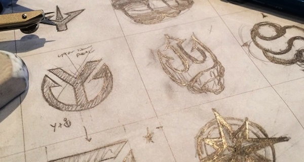 Creative Logo Sketching Designs for Inspiration13