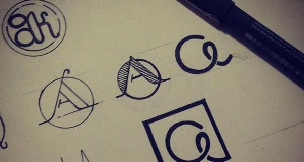 Creative Logo Sketching Designs for Inspiration16