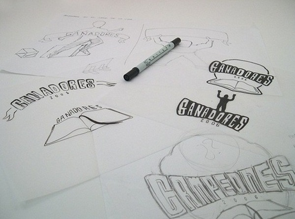 Creative Logo Sketching Designs for Inspiration3