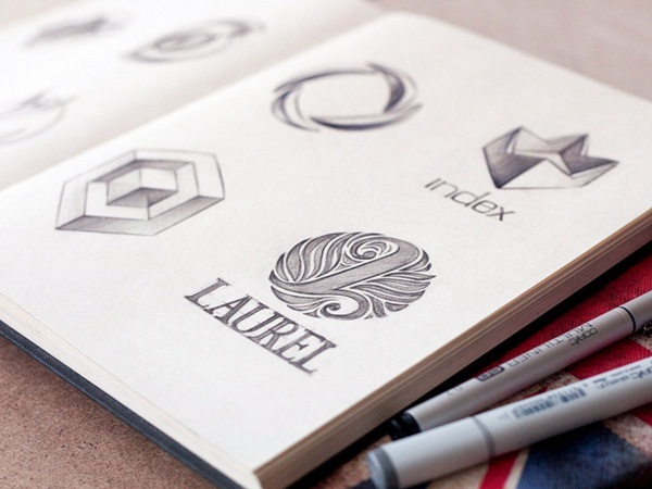 Creative Logo Sketching Designs for Inspiration5
