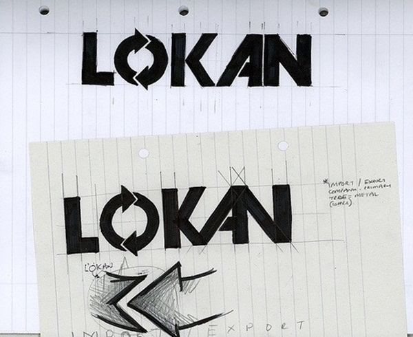 Creative Logo Sketching Designs for Inspiration9