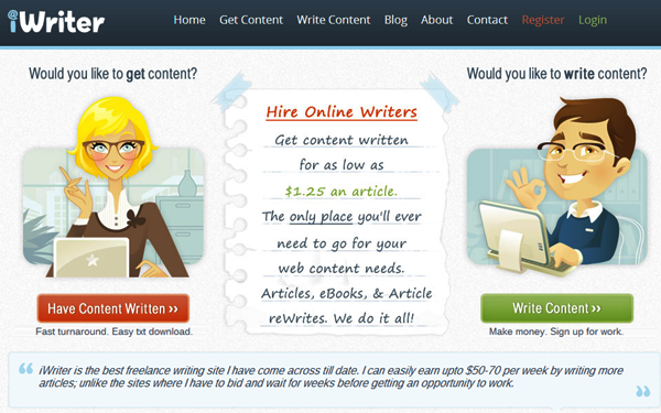 Websites to Pay you for Article Writing18