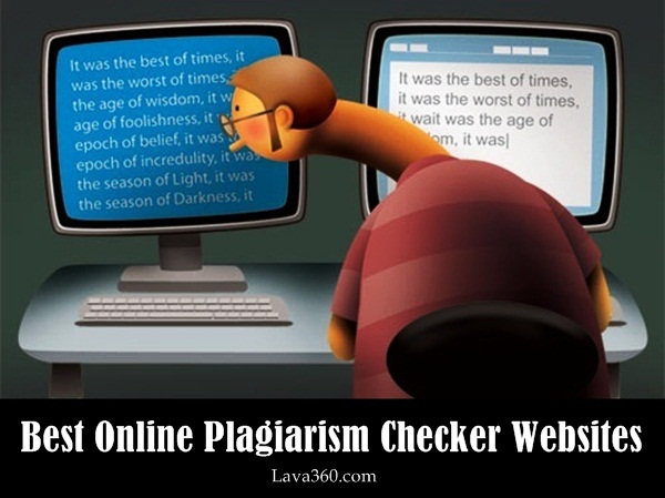 Best Online Plagiarism Checker Websites1.1