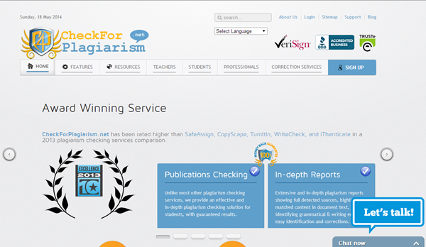 Best Online Plagiarism Checker Websites17