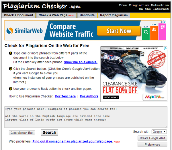 Best Online Plagiarism Checker Websites5
