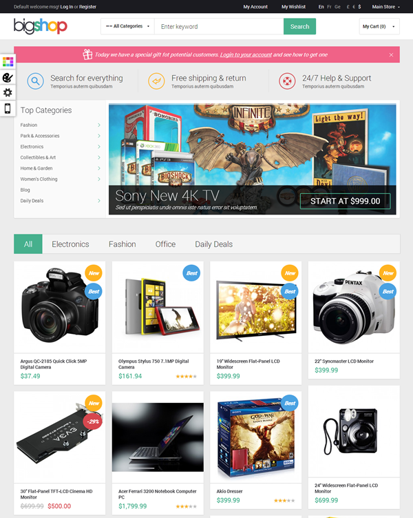 Best Magento Themes13