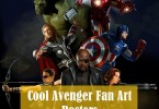 30 Cool & Creative Avengers Fan Art Posters