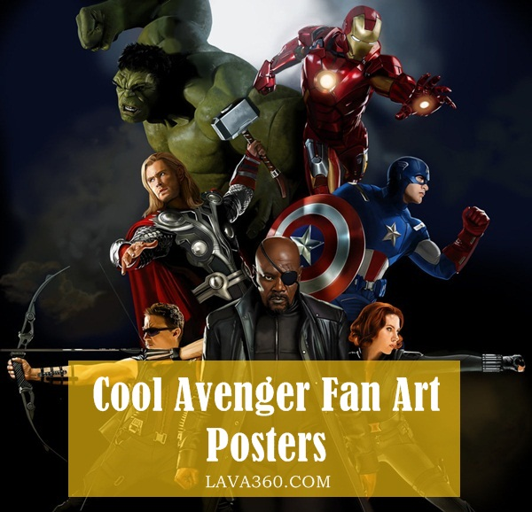 Cool Avenger Fan Art Posters1.1