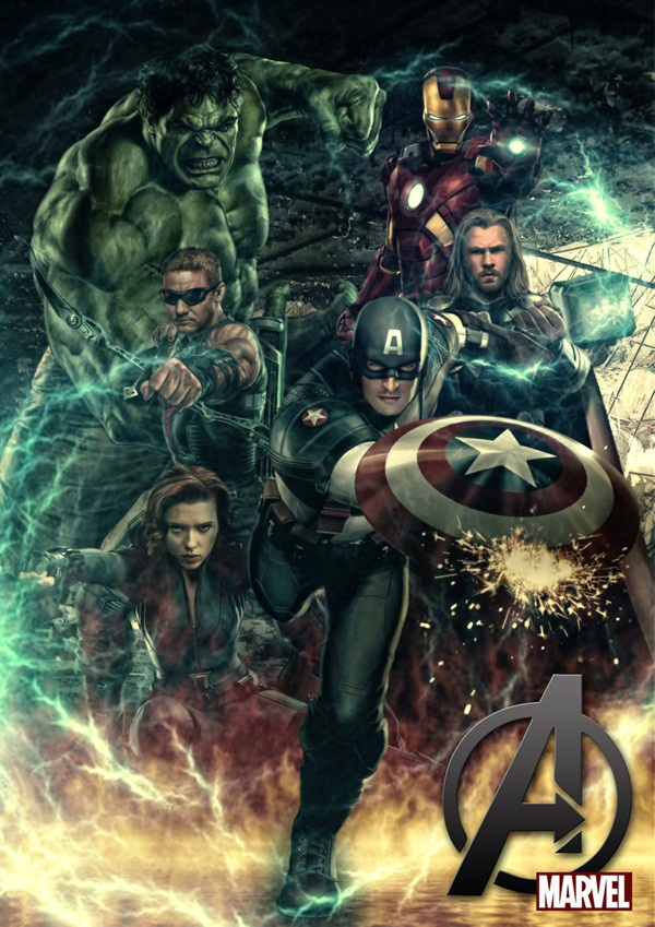 Cool Avenger Fan Art Posters10
