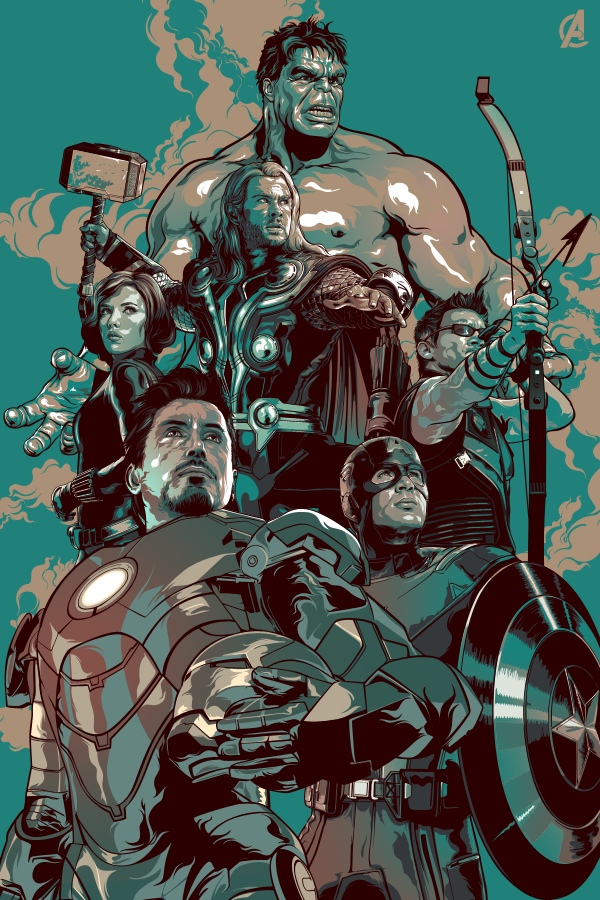 Cool Avenger Fan Art Posters2
